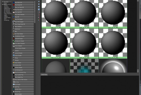 Part 3: Multi-Tile Shader Setup/Rendering in Maya.